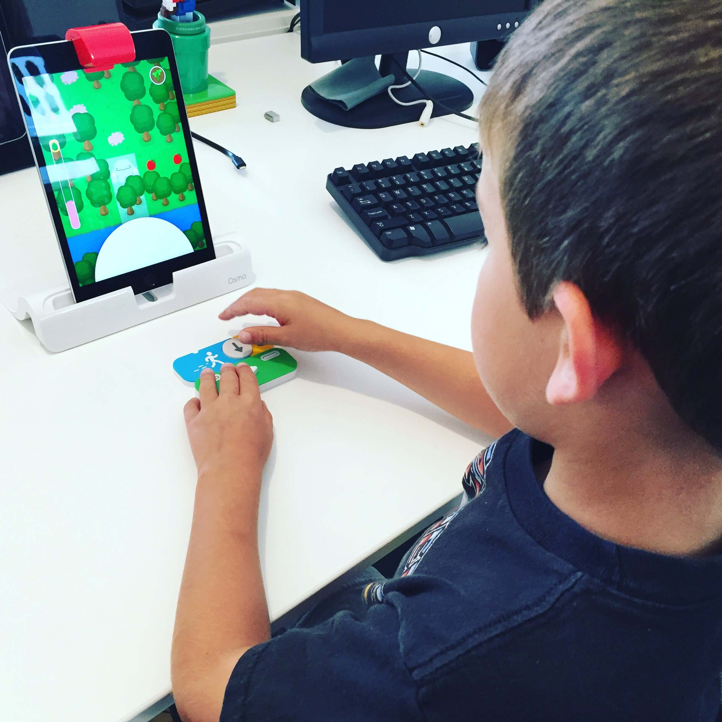 Jack - learning to code with Osmo Coding